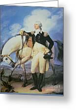 George Washington Greeting Card by John Trumbull