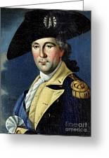 George Washington Greeting Card by Samuel King