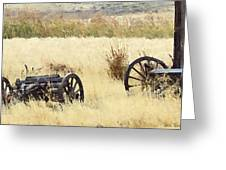 Ghost Of The Oregon Trail Greeting Card by Everett Bowers