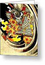 Ghost Of Warrior Tomomori 1880 Greeting Card by Padre Art