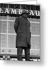 Ghosts Of Lambeau Greeting Card by Tommy Anderson