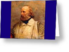 Giuseppe Garibaldi Greeting Card by Pg Reproductions
