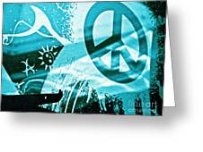 Give Peace A Shirt Greeting Card by Chuck Taylor
