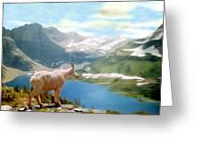 Glacier National Park Greeting Card by Kurt Van Wagner