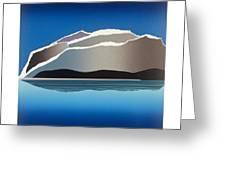 Glaciers Greeting Card by Jarle Rosseland