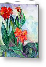Glad To Be Greeting Card by Mindy Newman