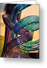 Glassworks 2 Greeting Card by Marty Koch