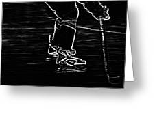 Gliding Greeting Card by Karol Livote