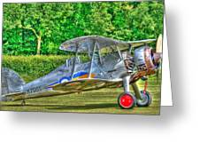 Gloster Gladiator 1938 Greeting Card by Chris Thaxter