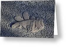 Glove Greeting Card by Robert Ullmann