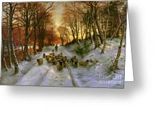Glowed With Tints Of Evening Hours Greeting Card by Joseph Farquharson