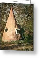 Gnome House Greeting Card by Susan Isakson