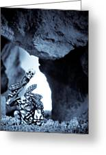 Goblin Shaman Greeting Card by Marc Garrido