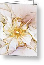 Golden Glow Greeting Card by Amanda Moore