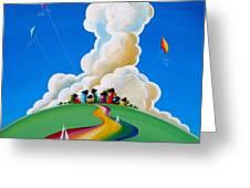 Good Day Sunshine Greeting Card by Cindy Thornton