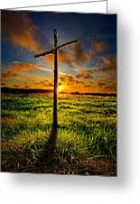 Good Friday Greeting Card by Phil Koch