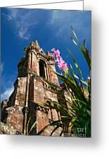 Gothic Chapel Greeting Card by Gaspar Avila