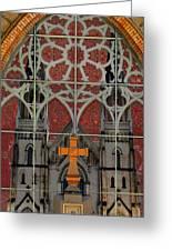 Gothic Church 2 Greeting Card by Scott Hovind