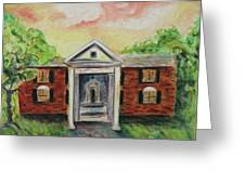 Graceland Greeting Card by Suzanne  Marie Leclair