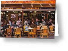 Grand Bar Greeting Card by Guido Borelli