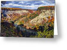 Grand Canyon Of The East Greeting Card by Mark Papke