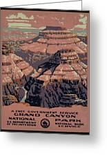 Grand Canyon Greeting Card by Unknown