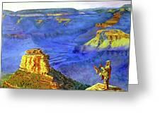 Grand Canyon V Greeting Card by Stan Hamilton
