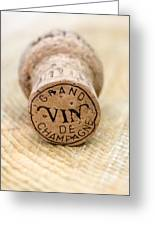 Grand Vin De Champagne Greeting Card by Frank Tschakert