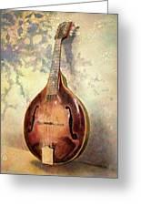 Grandaddy's Mandolin Greeting Card by Andrew King
