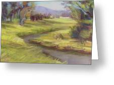 Grassy Meadow Greeting Card by Patricia Seitz