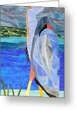 Great Blue Heron 2 Greeting Card by Charles McDonell