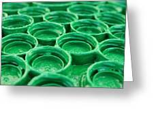 Green Greeting Card by Dan Holm