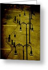 Green Light Greeting Card by Susanne Van Hulst