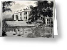 Greenwood Plantation Greeting Card by Ron Landry