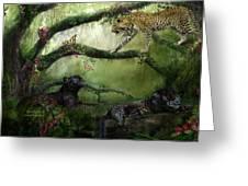 Growing Wild Greeting Card by Carol Cavalaris