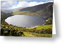 Guinness Lake In Wicklow Mountains  Ireland Greeting Card by Semmick Photo