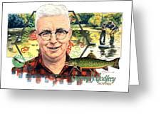 Gurney J. Godrey Greeting Card by John D Benson