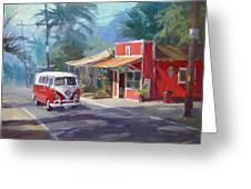 Haleiwa Greeting Card by Richard Robinson