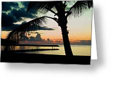 Haleiwa Greeting Card by Steven Sparks