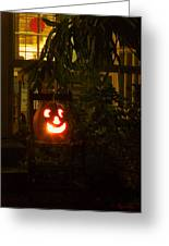 Halloween Beacon Greeting Card by Cheri Randolph