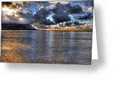 Hanalei Bay Hdr Greeting Card by Kelly Wade