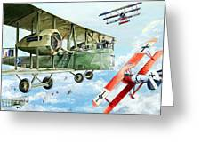 Handley Page 400 Greeting Card by Charles Taylor