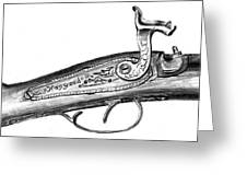 Hapgood Musket Greeting Card by Kevin Callahan