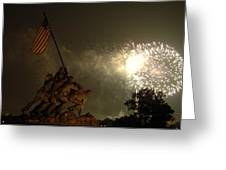 Happy Birthday America Greeting Card by John McGarity