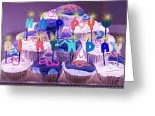 Happy Birthday Greeting Card by Holly Kempe