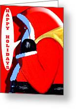 Happy Holidays 6 Greeting Card by Patrick J Murphy