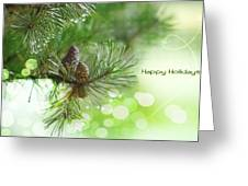 Happy Holidays Too Greeting Card by Rebecca Cozart