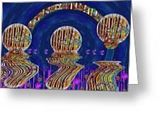 Happy Under The Rainbow Vintage Greeting Card by Pepita Selles