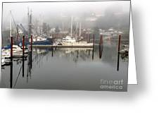 Harbor Greeting Card by   FLJohnson Photography