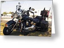 Harley Classic Greeting Card by Elizabeth Chevalier